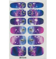 Nail Stickers Ciel Etoilé