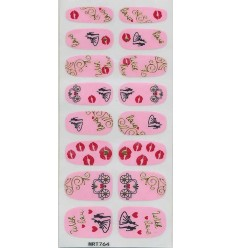 Nail Stickers With Love
