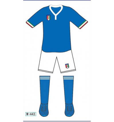 Tatouage Éphémère Euro 2016 Italie M