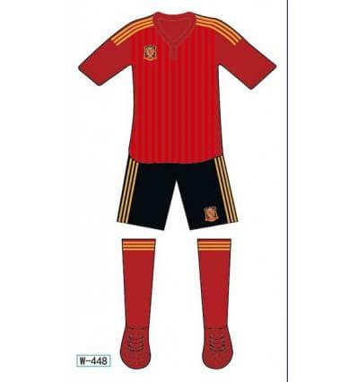 Tatouage Éphémère Euro 2016 Espagne M