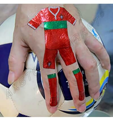 Tatouage Éphémère Euro 2016 Portugal M