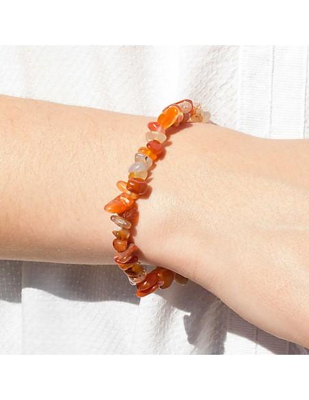 Bracelet Pierre Naturelle Cornaline