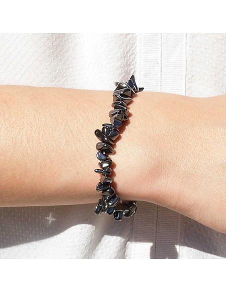 Bracelet Pierre Naturelle Hématite