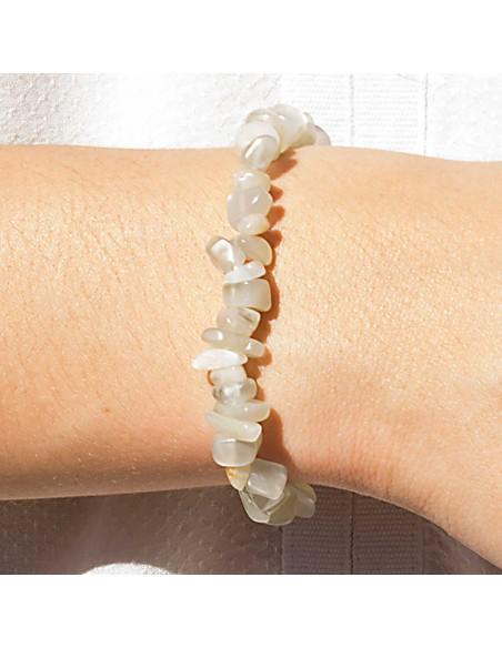 Bracelet Pierre Naturelle Pierre de Lune