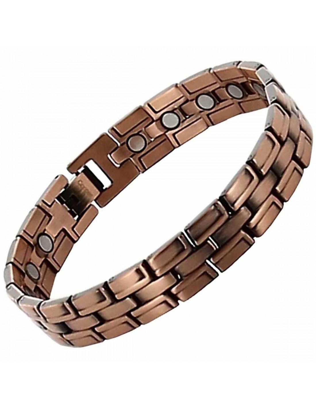vente chaude en ligne 90981 aa499 Bracelet cuivre avec aimants pour aider à réduire douleurs et stress |  Axstore-market.fr