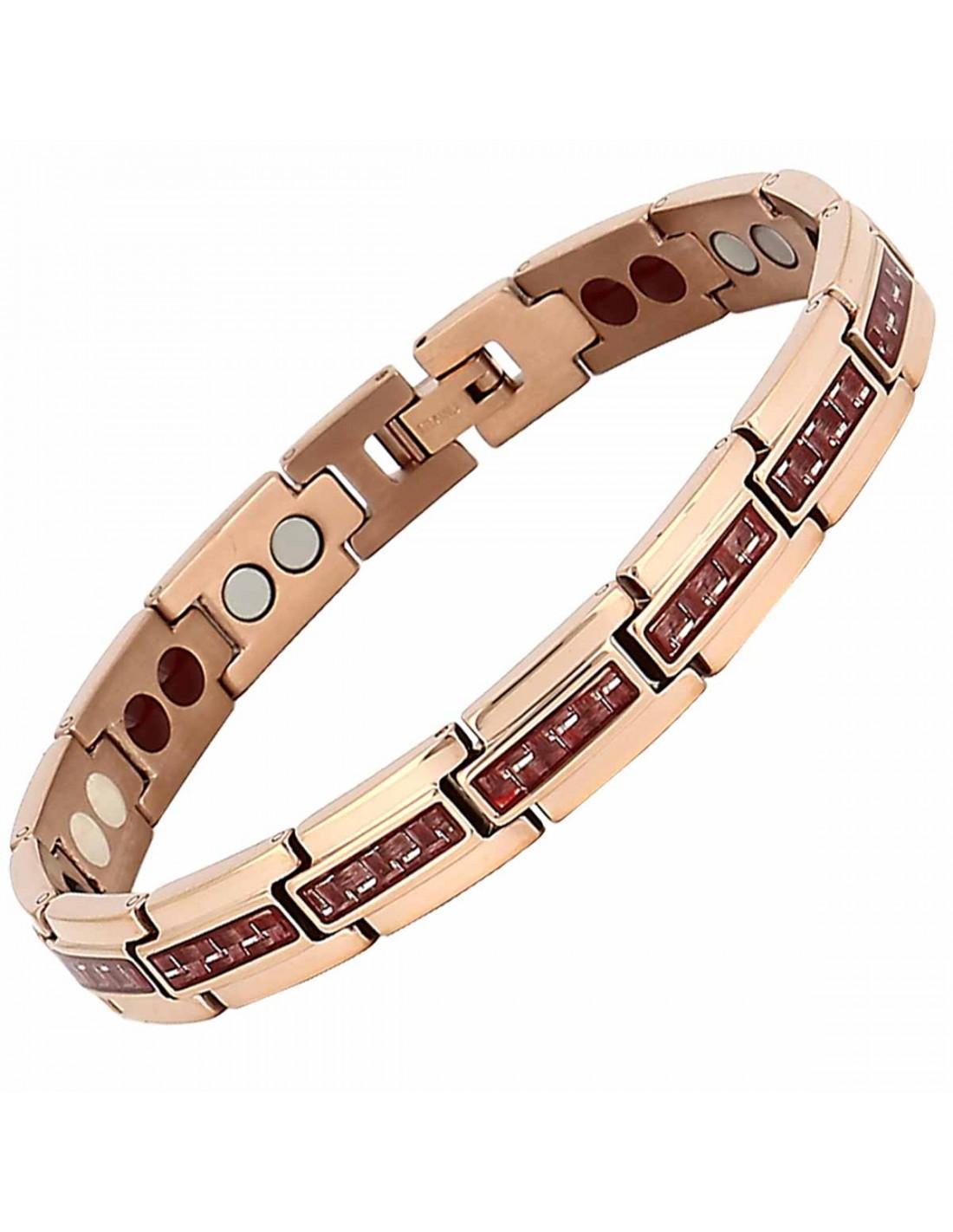 Bracelet magnetique antidouleur naturel, bienfaits d aimants ... 426f3bc060d3