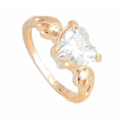 BAGUE ANGELOT Or Rose