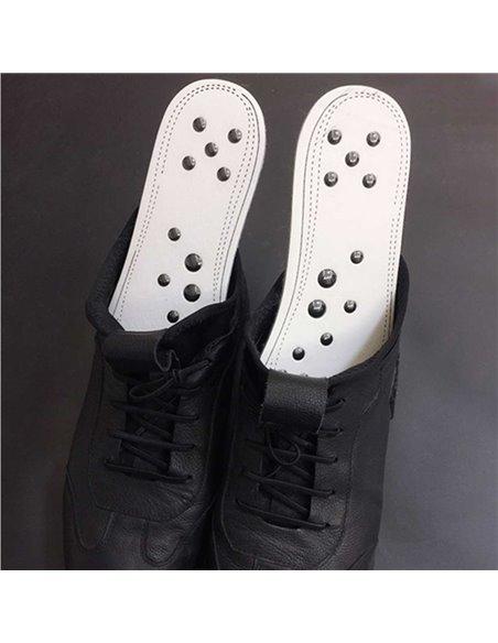 SEMELLES MAGNETIQUES CONFORT BLANCHES pour Chaussures