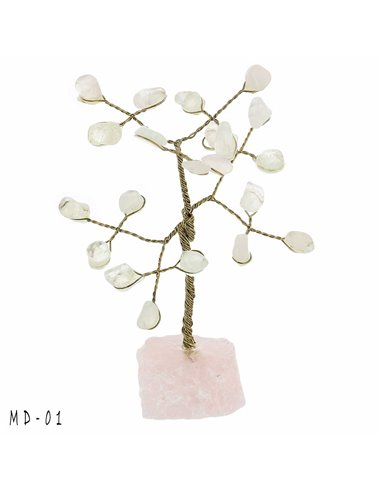 ARBRE DE VIE QUARTZ ROSE MD01 PM