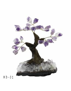 ARBRE DE VIE BONSAI AMETHYSTE PM MD01