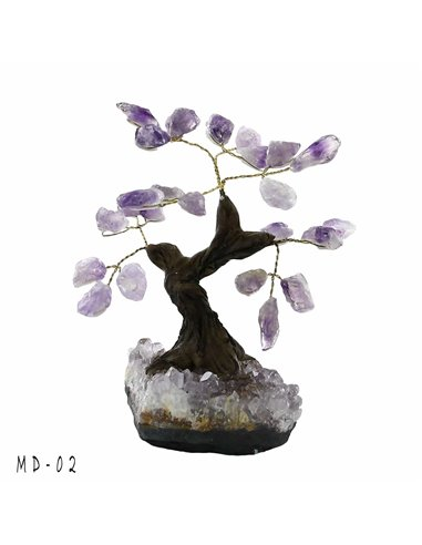 ARBRE DE VIE BONSAI AMETHYSTE PM MD02