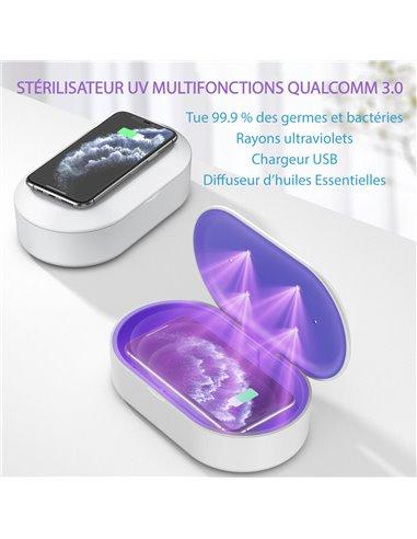 STÉRILISATEUR UV MULTIFONCTIONS QUALCOMM 3.0