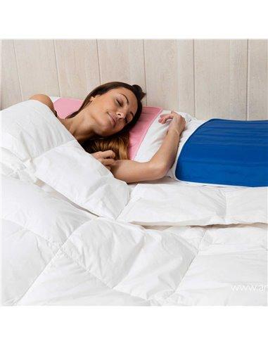 Oreiller rafraîchissant cristal naturel pour bien dormir l'été lit femme