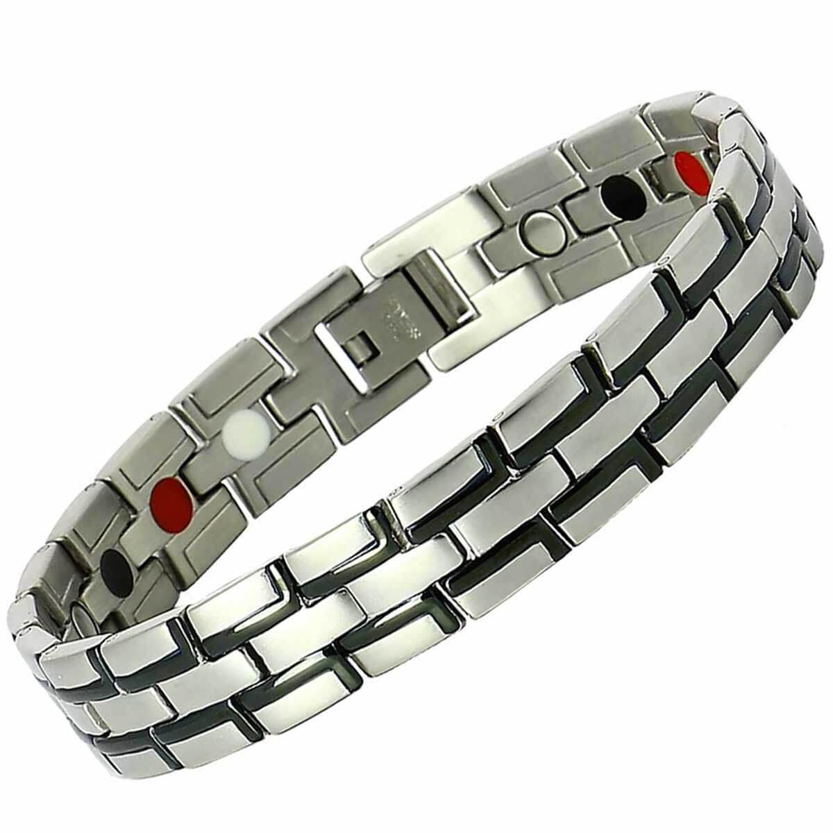 Bracelet magnétique avec ces éléments infra rouge lointains (en rouge)