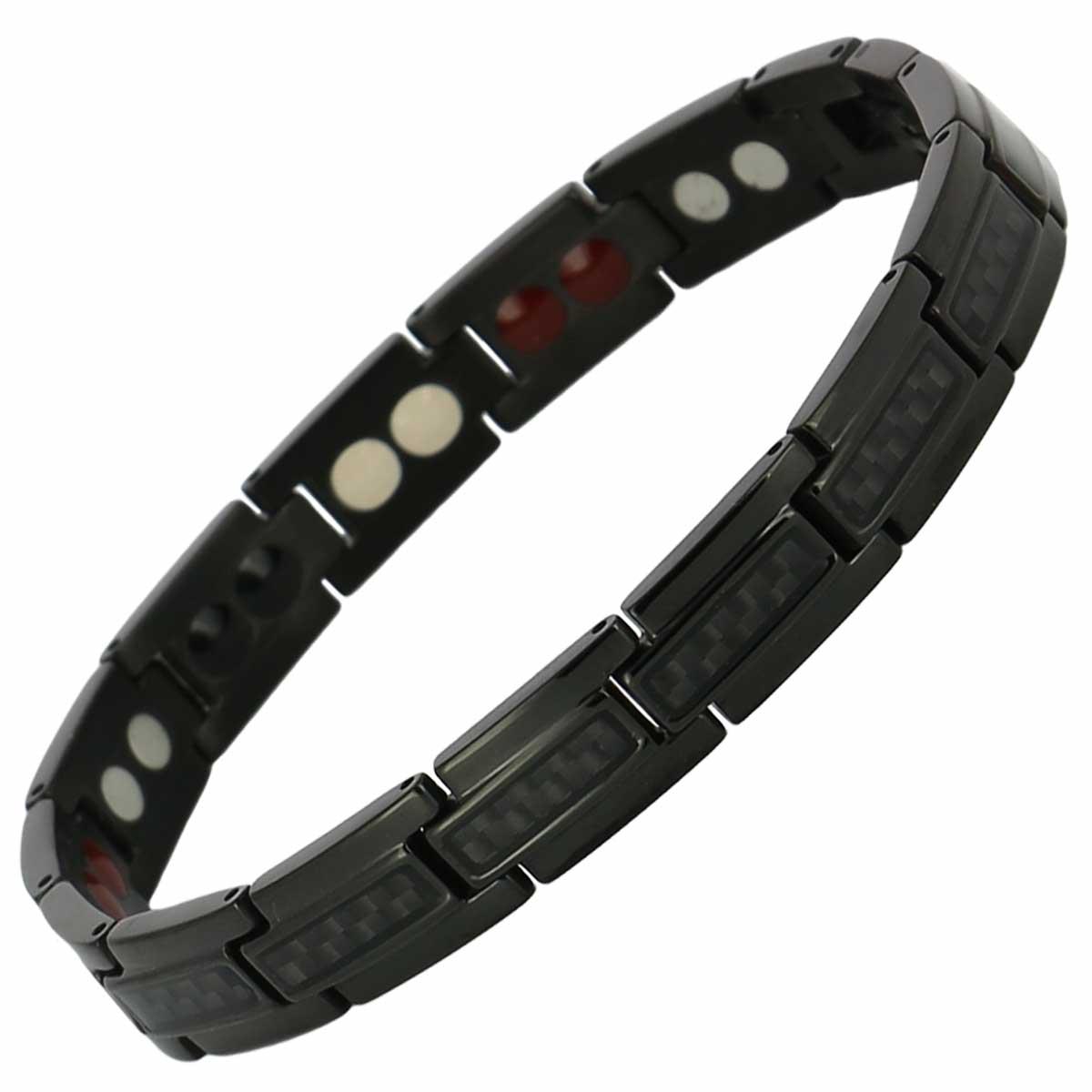 bracelet-magnetique-fibre-de-carbone