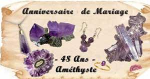 48 ans de Mariage - !amethyste