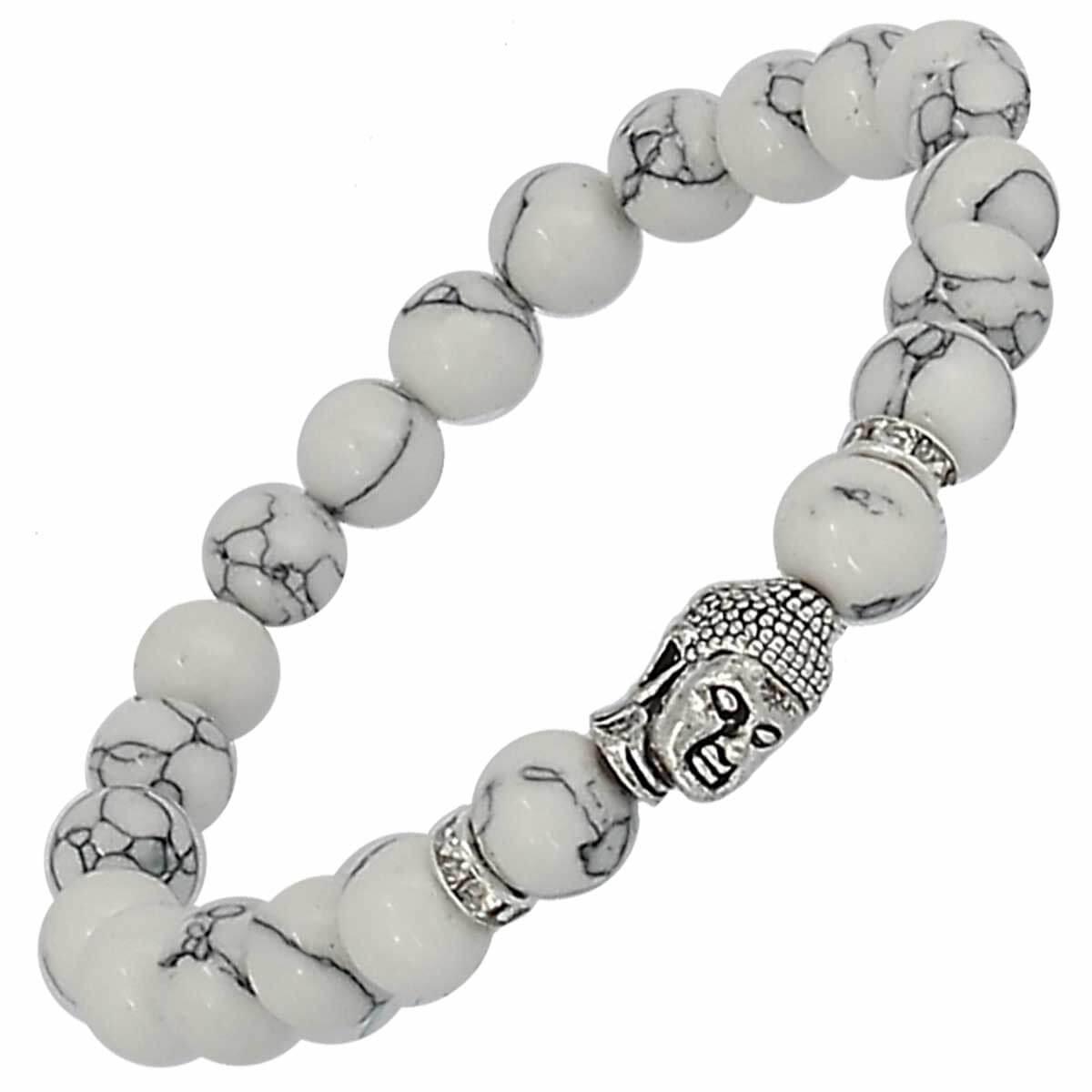 Bracelet bouddha howlite