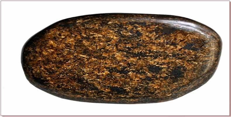 Bronzite pierre