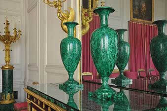 Grand Trianon salon des Malachites