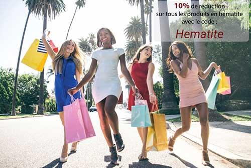 Promotions produits en hématite