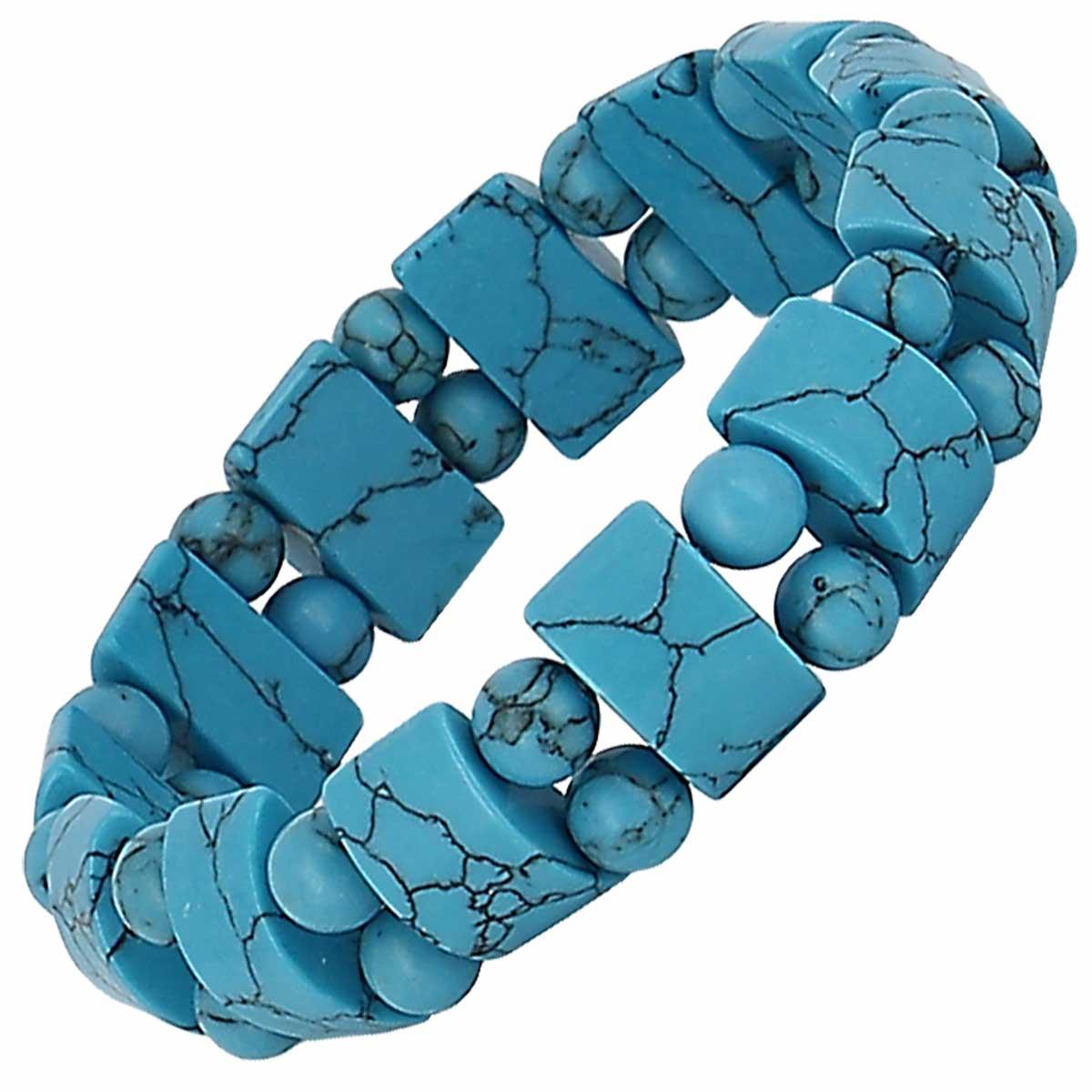 Bracelet Tank en Turquoise