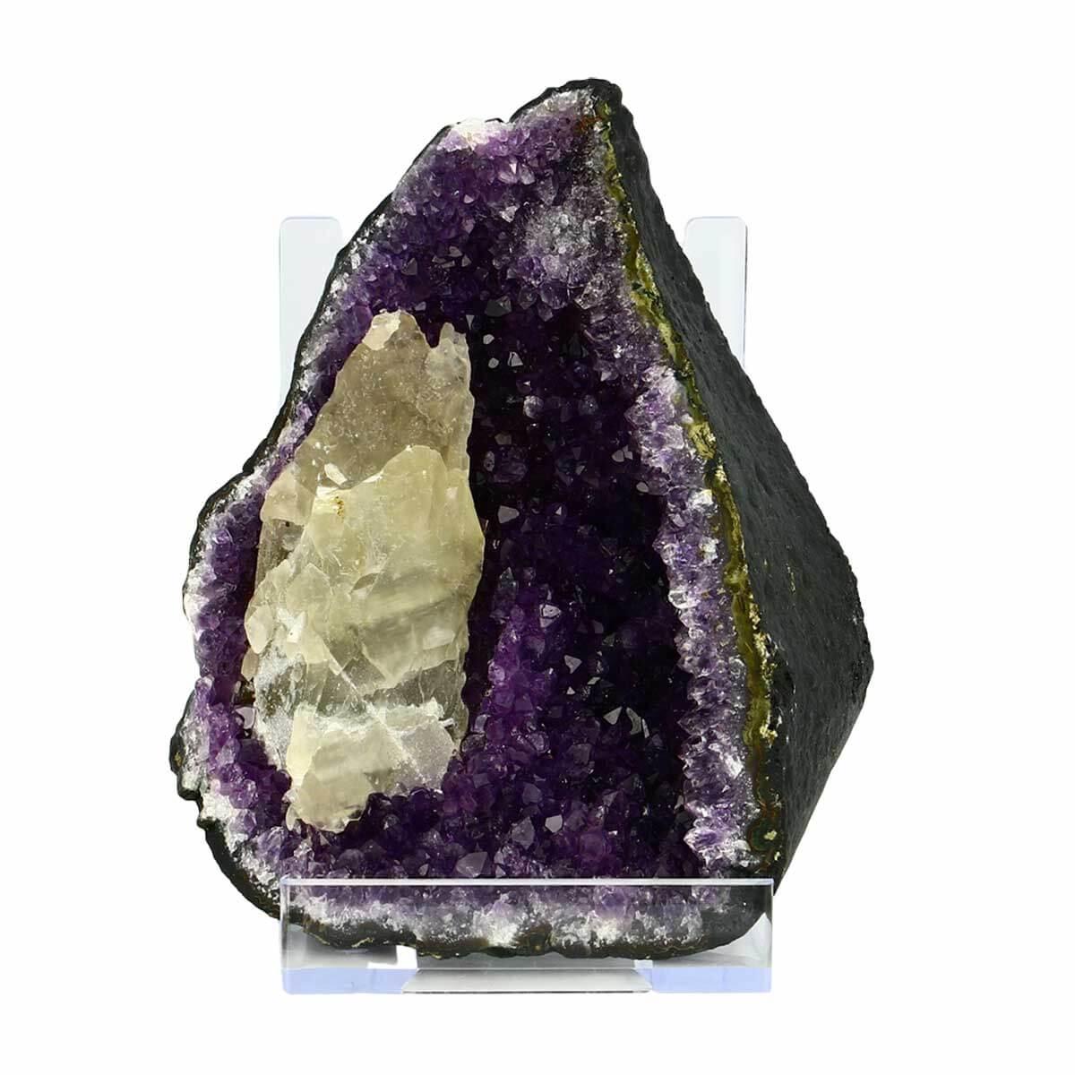 Geode d'amethyste d'urugay