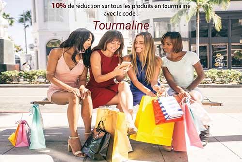 Promotion produits en tourmaline