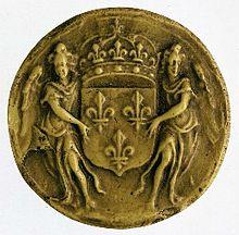 Sceau de Louis XIV