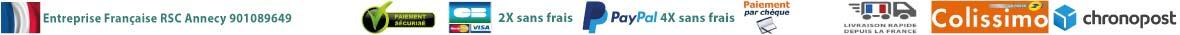 Moyens de paiement et site sécurisés