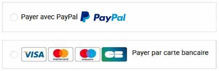 Paiement par CB ou Paypal sur axstore-market.fr